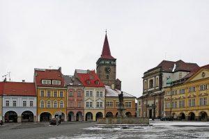 Jičín, Valdštejnovo náměstí: Foto: facebookové stránky Městského úřadu v Jičíně