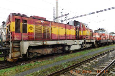Nepotřebná vozidla ČD Cargo určená k prodeji. Pramen: ČD Cargo
