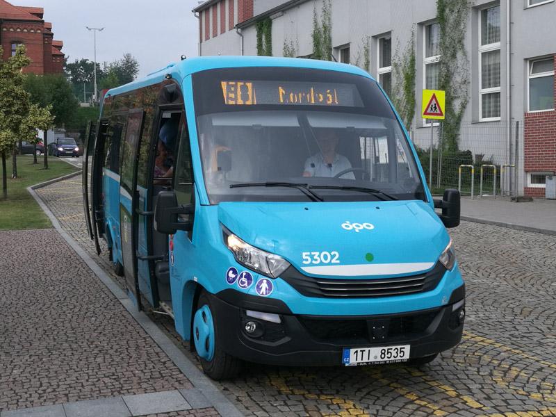 Elektro minibus Rošero - P First FCLLI 80 EL. Foto: DPO