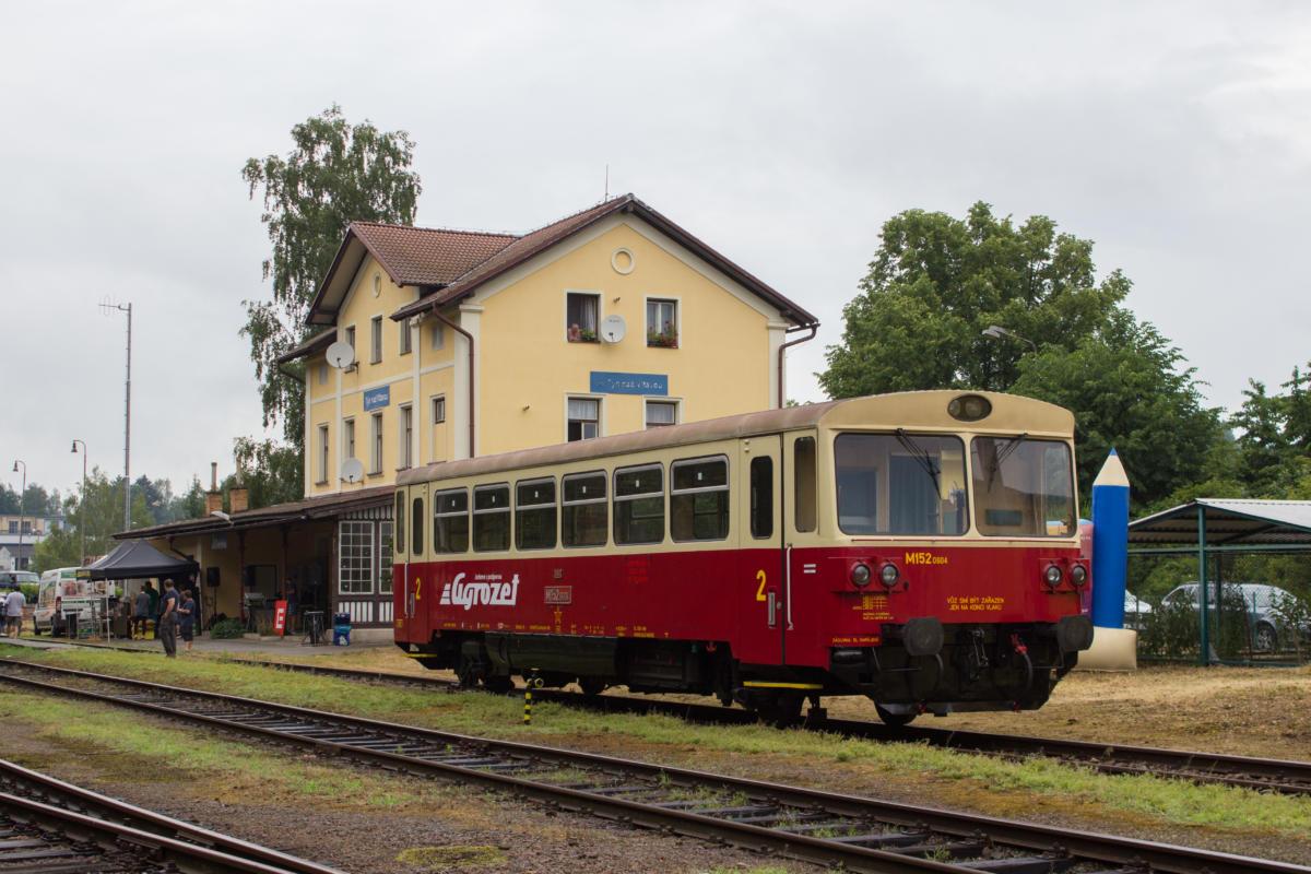 Stanice Týn nad Vltavou. Pramen: KPT Rail