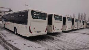 Nové autobusy Iveco Crossway pro ČSAD Liberec. Foto: Martin Bobek