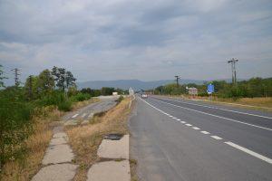 Silnice I/13 mezi Mostem a Chomutovem, ilustrační foto. Pramen: ŘSD