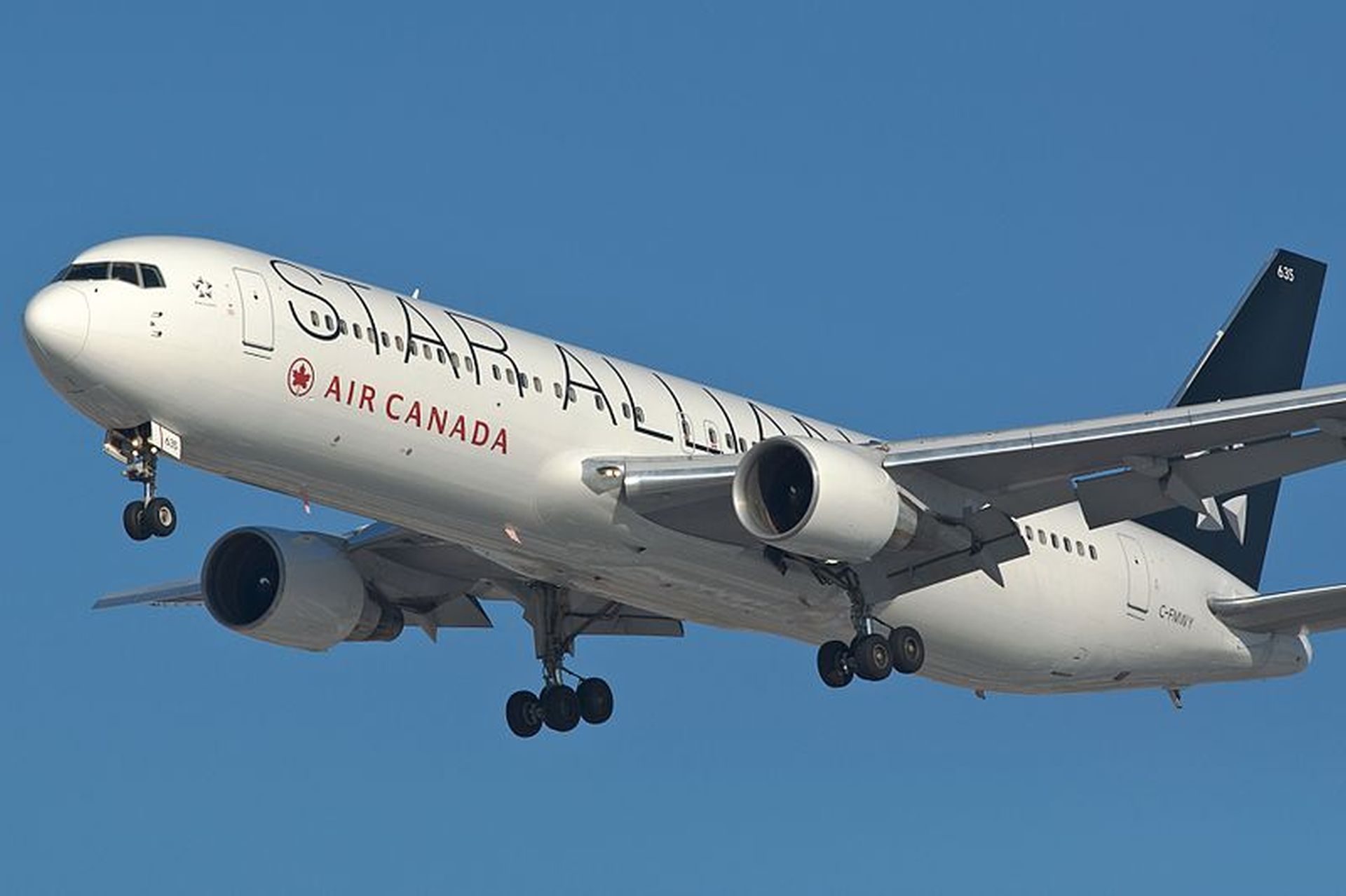 Boeing 767-300ER společnosti Air Canada. Foto: Brian from Toronto, Canada [CC BY-SA (https://creativecommons.org/licenses/by-sa/2.0)]