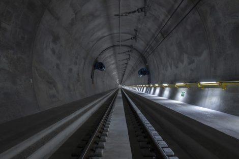 Tunel Ceneri. Pramen: AlpTransit Gotthard AG