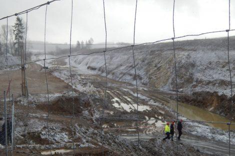 Tudy povede 4. koridor z tunelu Deboreč na jih. Autor: Zdopravy.cz/Jan Šindelář