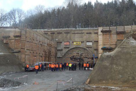 Jižní portál tunelu Deboreč. Autor: Zdopravy.cz/Jan Šindelář