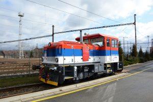Lokomotiva EffiShunter 300 pro Srbsko. Pramen: CZ LOKO