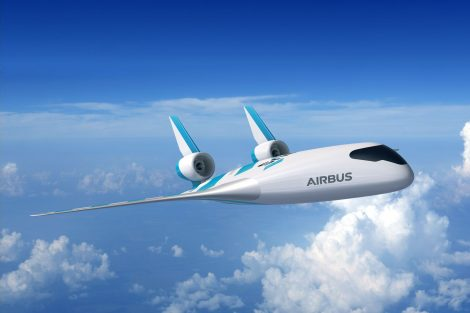 Nový koncept letadla Maveric. Foto: Airbus