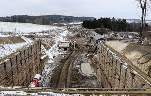 Severní portál tunelu Deboreč. Autor: Správa železnic