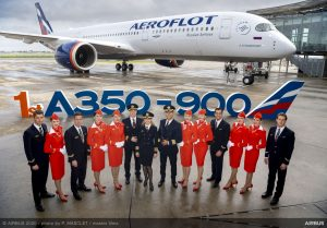 A350-900 pro Aeroflot. Foto: Airbus