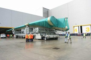 Výroba křídel v Broughtonu. Foto: Airbus