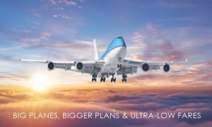 Boeing 747 v barvách Avatar Airlines