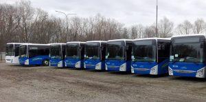 Nové autobusy Iveco Crossway pro dopravu v Plzeňském kraji. Foto: Integrovaná doprava Plzeňského kraje