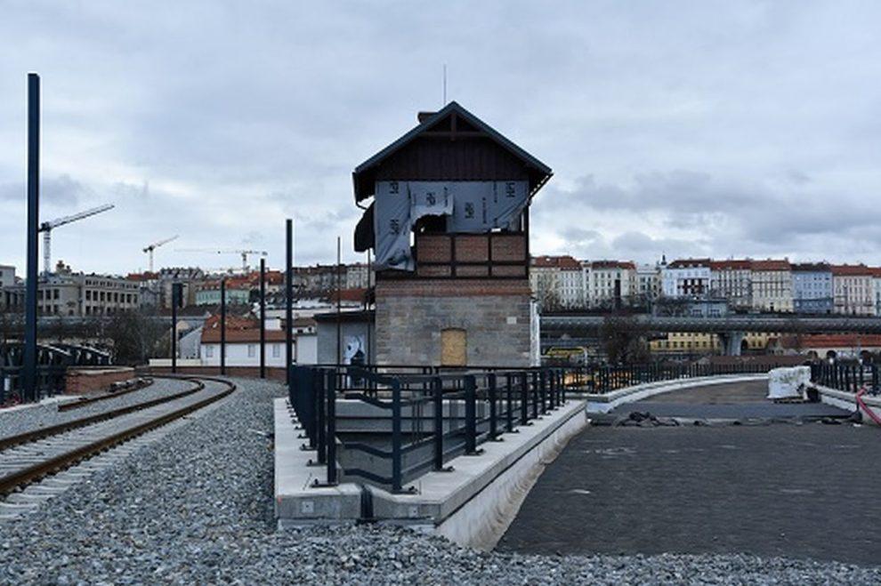 Rekonstrukce Negrelliho viaduktu. Foto: Správa železnic