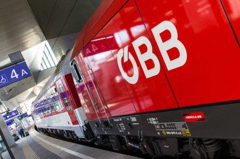Vlak ÖBB, ilustrační foto. Pramen: ÖBB