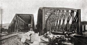Původní a nová podoba mostu