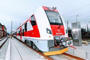 Nová elektrická jednotka pro ZSSK. Foto: ZSSK