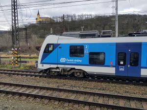 RegioPanter Českých drah v Ústí nad Labem. Foto: Jan Sůra