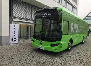 Samořiditelný autobus od Temsy. Foto: Temsa