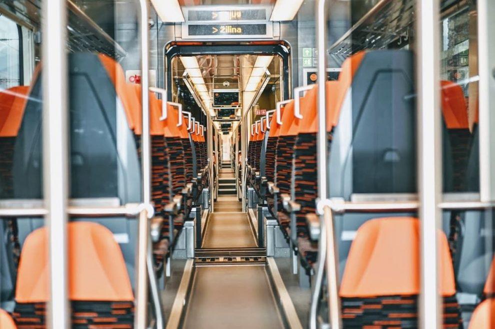 Vlak ZSSK, ilustrační foto. Pramen: ZSSK