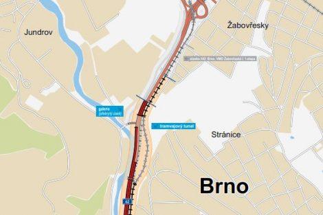 Trasa II.etapy VMO Žabovřeská