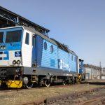 Lokomotiva řady 163 společnosti ČD Cargo po montáži ETCS. Foto: ČMŽO - elektronika