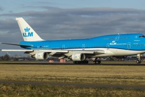 Boeing 747-400 společnosti KLM. Foto: KLM