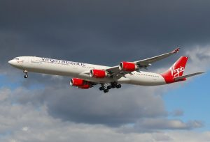 Airbus A340-600 v barvách Virgin Atlantic. Foto: Laurent ERRERA from L'Union, France / CC BY-SA (https://creativecommons.org/licenses/by-sa/2.0)
