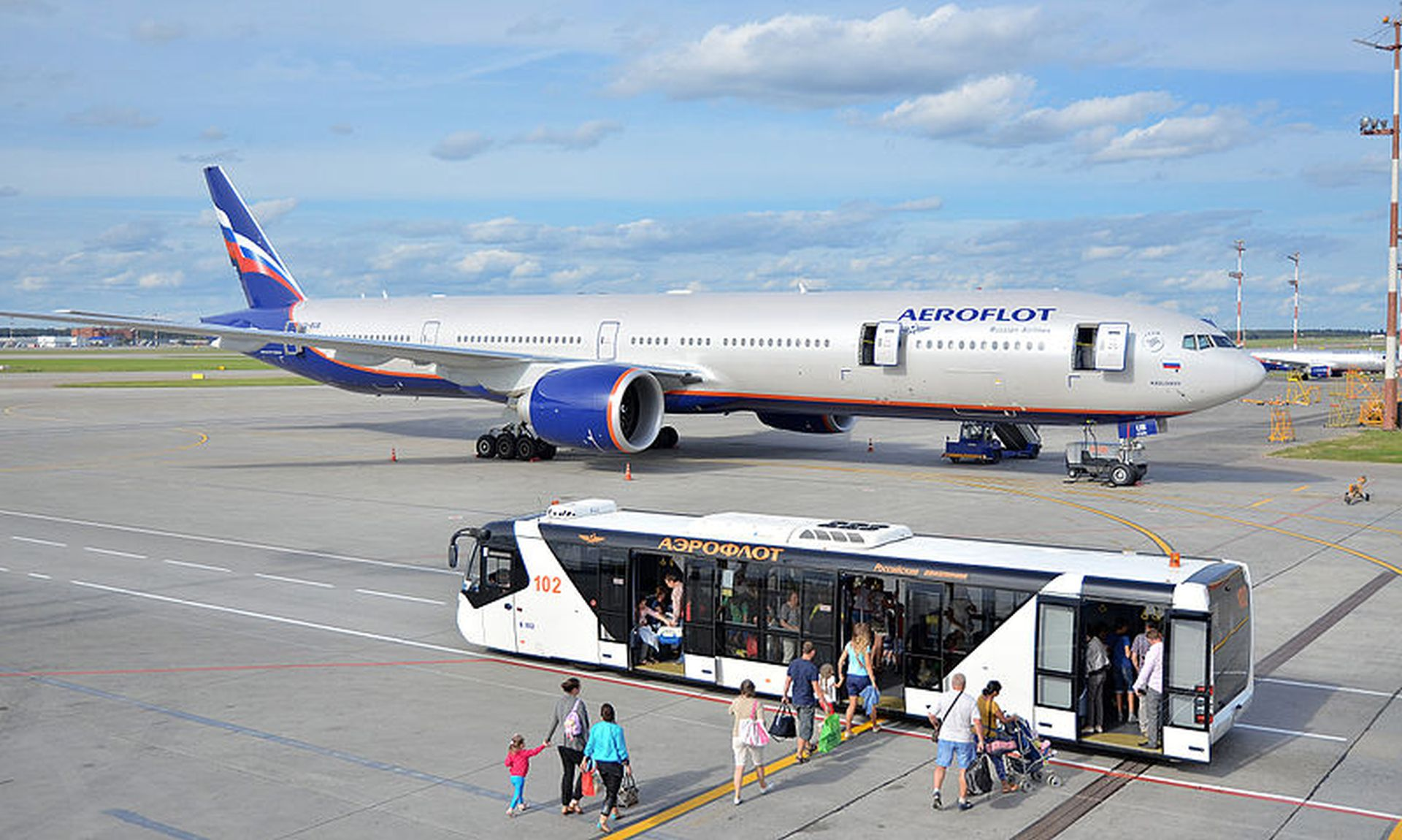 Boeing 777-300ER společnosti Aeroflot. Foto: Sergey Korovkin 84 / CC BY-SA (https://creativecommons.org/licenses/by-sa/4.0)