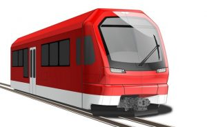 Nástin nové podoby vlaku Matterhorn Gotthard Bahn. Pramen: BVZ