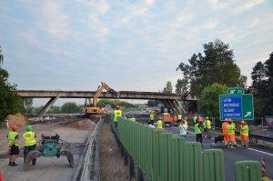 Přestavba MÚK Olšany u Prostějova na D46. Pramen: ŘSD