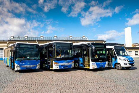 Nové autobusy Arrivy pro Plzeňský kraj. Pramen: Arriva.
