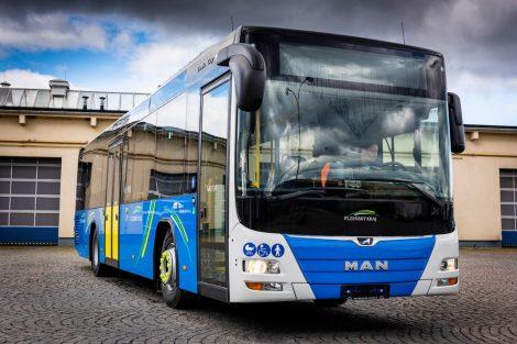Autobus MAN (92 ks). Pramen: Arriva