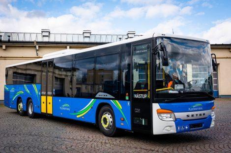 Autobus Setra (66 ks). Pramen: Arriva