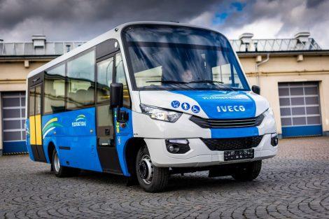 Mikrobus Dekstra na podvozku Iveco (12 ks). Pramen: Arriva