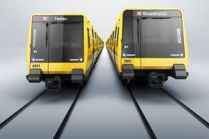 Nové vozy pro metro v Berlíně. Foto: Stadler