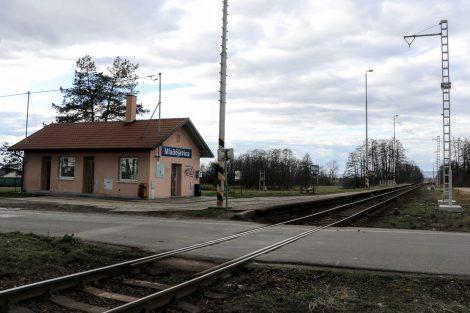 Zastávka Mladějovice dostane nové nástupiště. Pramen: Správa železnic