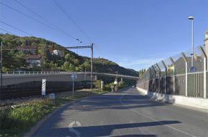 Řešení nadjezdu ve Velké Chuchli. Foto: Správa železnic
