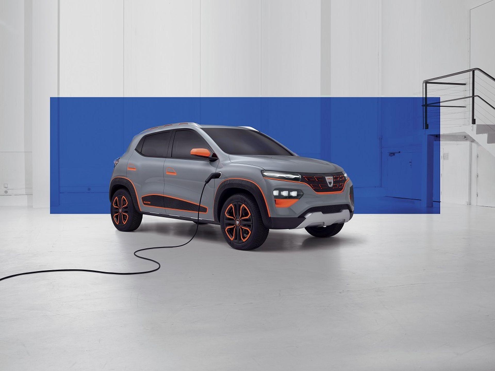 Elektromobil Dacia Spring. Pramen: Dacia