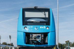 Jednotka Coradia iLint od Alstomu s vodíkovým pohonem. Pramen: Alstom/René Frampe