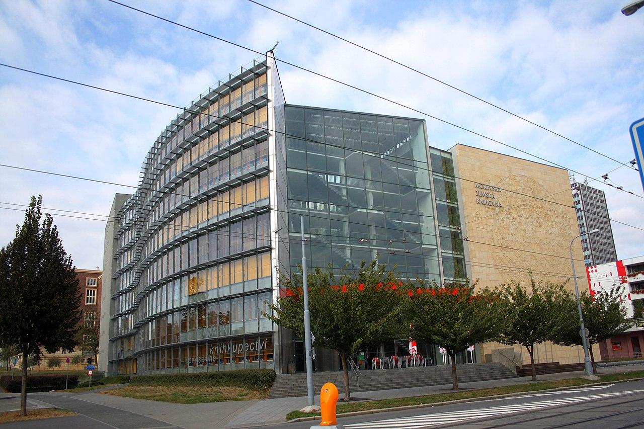 Moravská zemská knihovna v Brně. Autor: Frettie – Vlastní dílo, CC BY 3.0, https://commons.wikimedia.org/w/index.php?curid=8539713