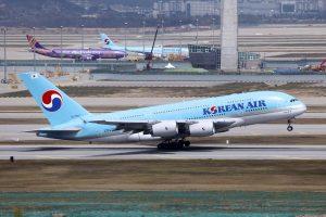 A380 společnosti Korean Air. Foto: https://www.flickr.com/photos/byeangel/17102170800/