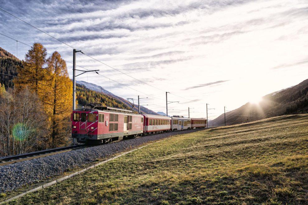 Vlak Matterhorn Gotthard Bahn. Pramen: BVZ