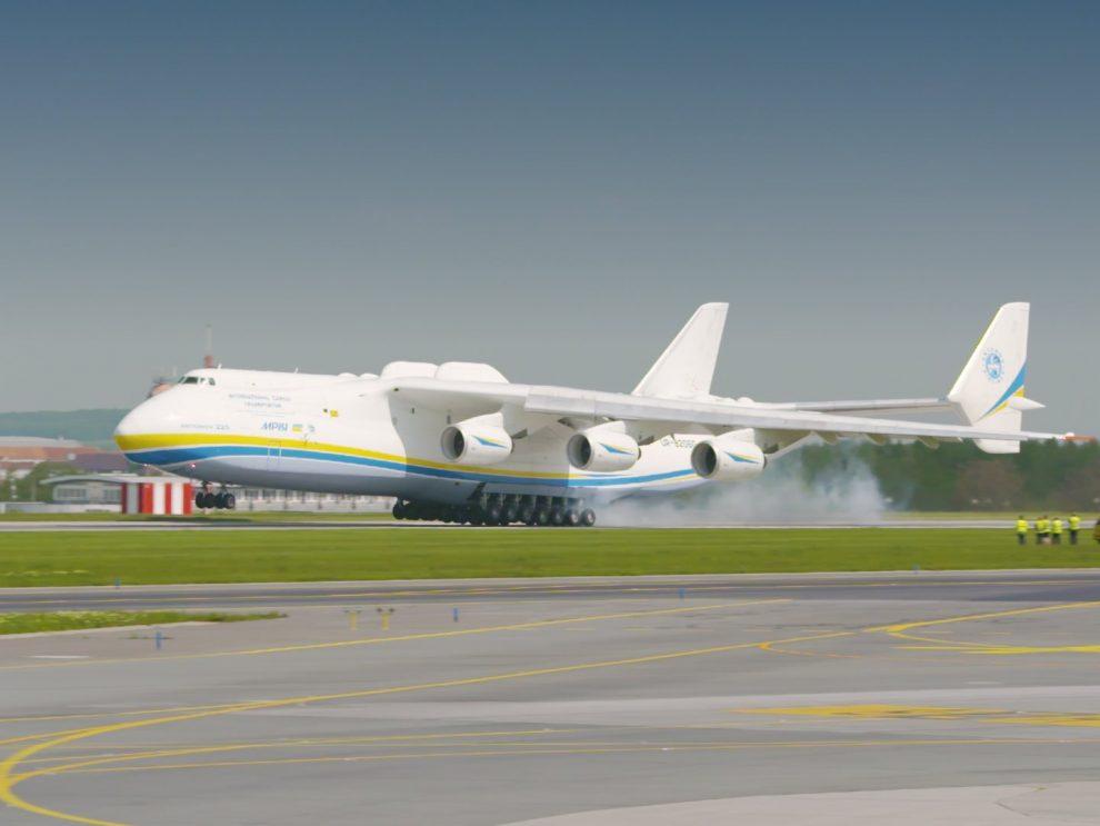 Antonov An-225 Mrija v Praze. Foto: Rosťa Kopecký / Flyrosta.com