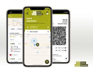 Vizualizace podoby aplikace systému jednotného tarifu. Foto: Cendis