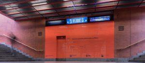 Propagace nového podchodu na hlavním nádraží. Zdroj: COLLCOLL