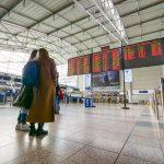 Prázdné Letiště Václava Havla v neděli 15.3.2020. Foto: Rosťa Kopecký / Flyrosta.com