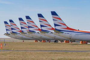 Odstavené Boeingy 737 MAX 8 Smartwings. Zatímco celý rok dopravci výrazně tato letadla výrazně chyběla, teď rozhodně ne. Foto: Rosťa Kopecký / FlyRosta.com