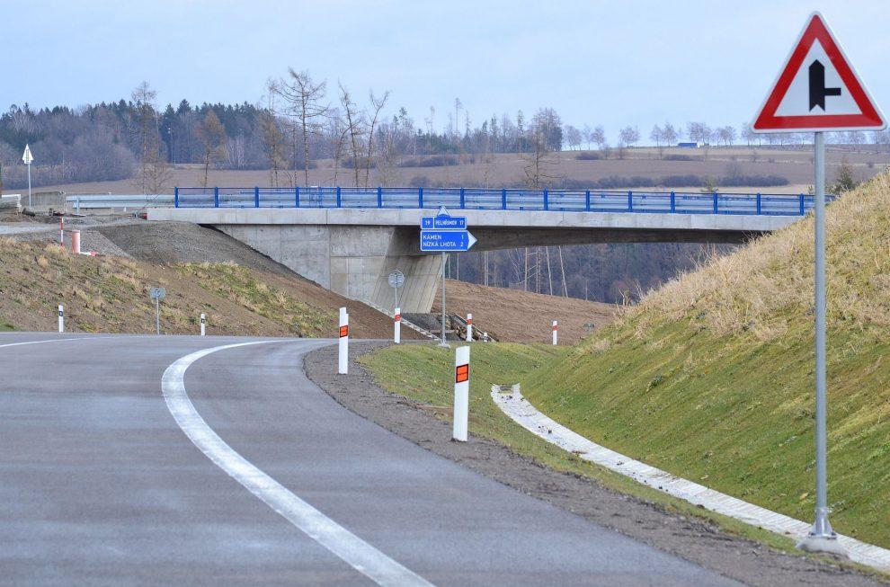Silnice I/19, ilustrační foto. Pramen: ŘSD