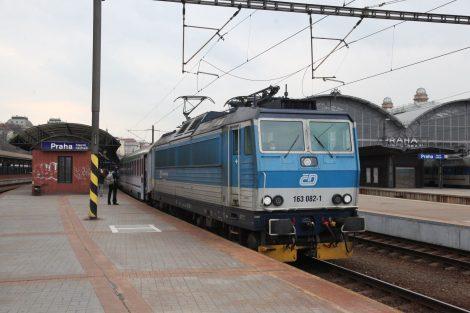 Speciální evakuační vlak z Prahy na polsko-ukrajinské hranice. Foto: Václav Rubeš / České dráhy